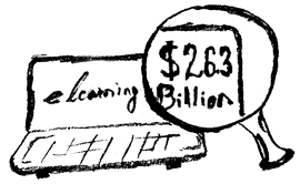 eLearning industry worth of $26.3 billion